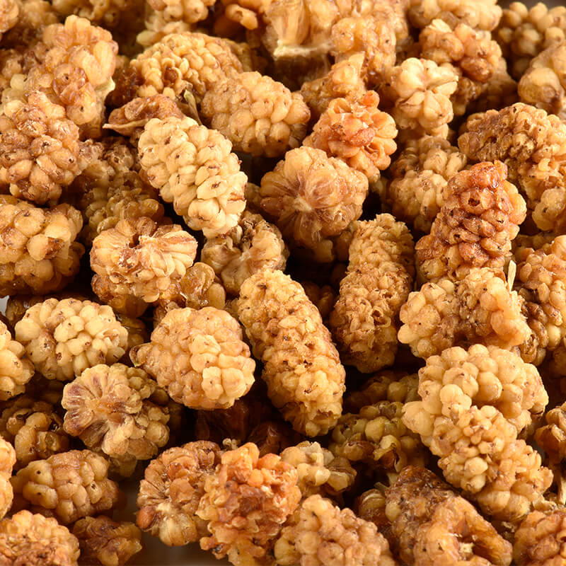 mulberries mures blanches juste bio