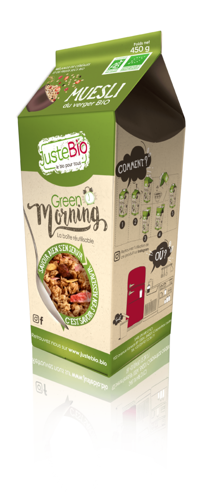 Muesli Fruits du Verger Bio